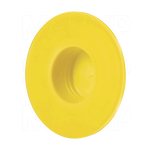 Thick Extra Wide Flange Plastic Plug Caps